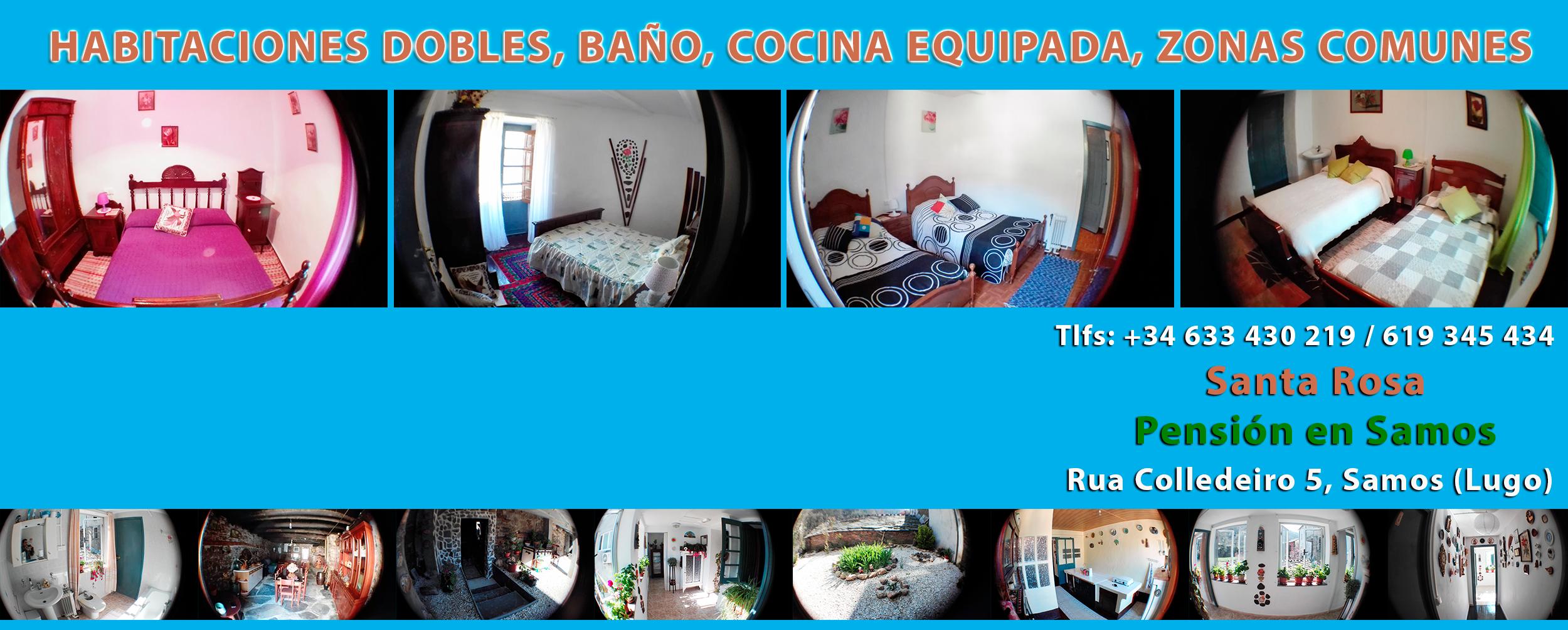 Alojamiento en Pensión en Samos Santa Rosa